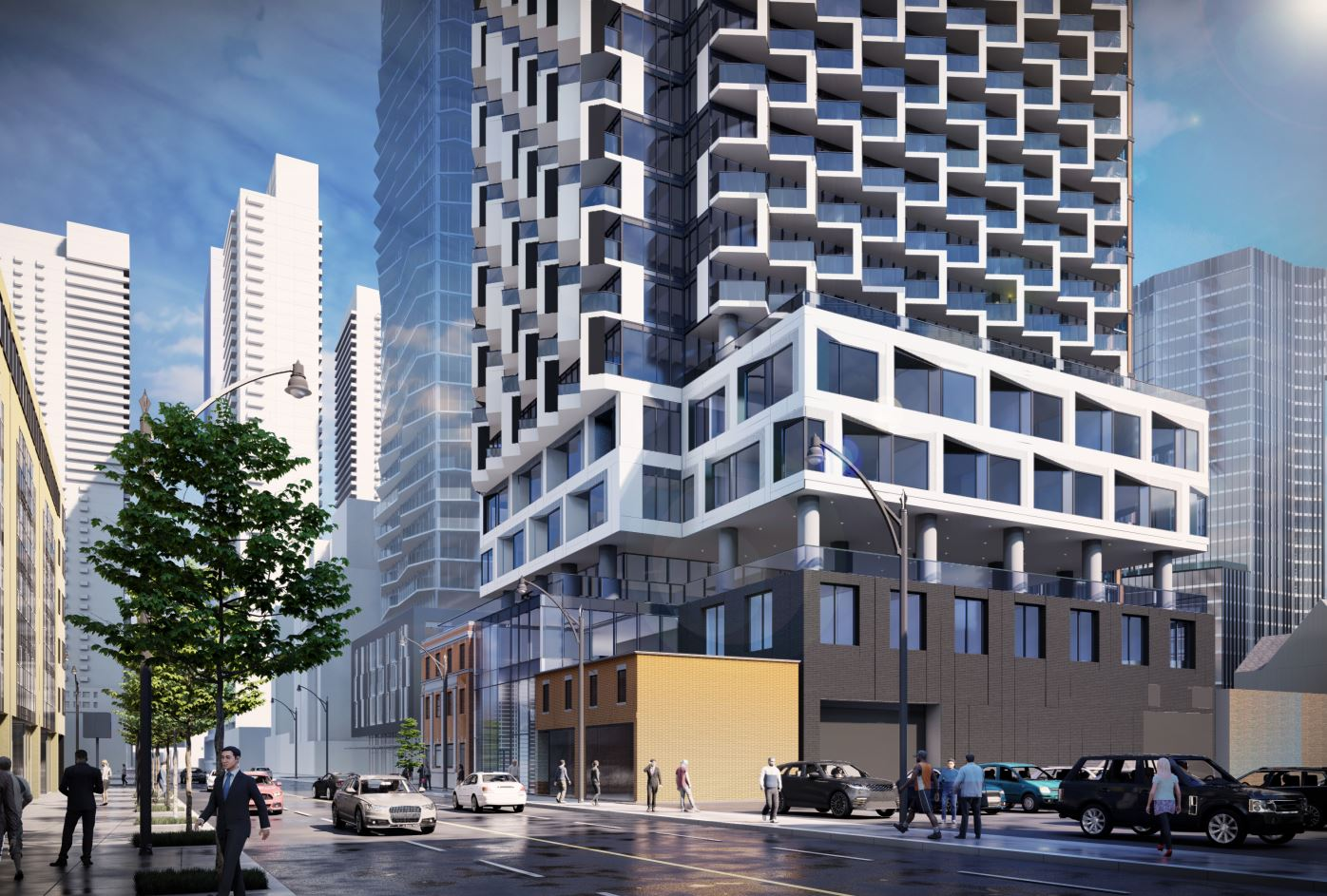 244 Church Street Condos Exterior Rendering