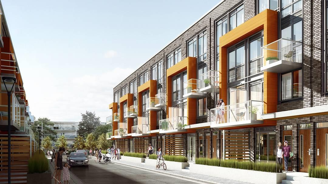 75 Curlew Urban Towns Exterior Rendering