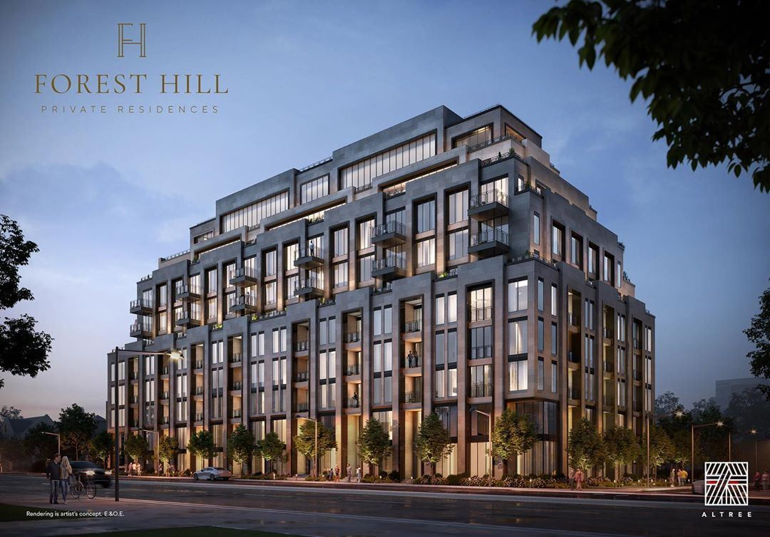 Forest Hill Private Residences Exterior Rendering