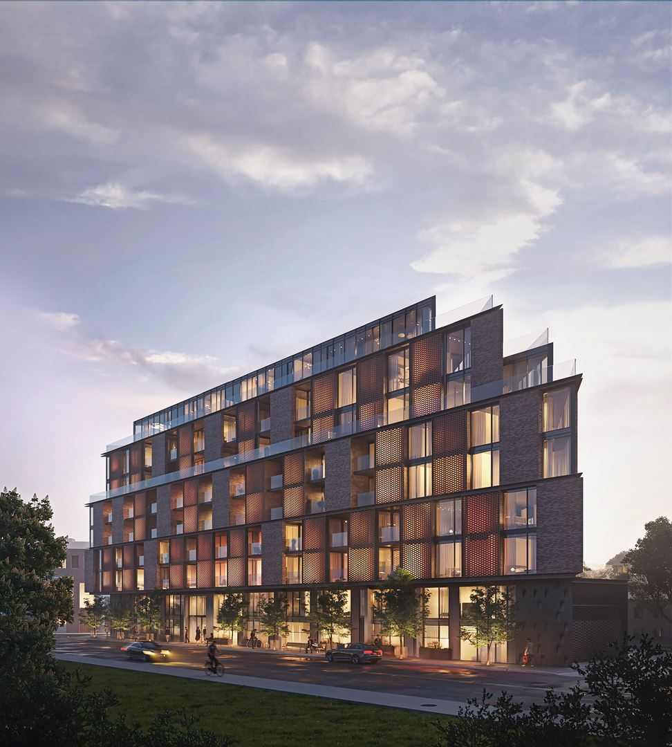 Junction Point Condos Exterior Rendering
