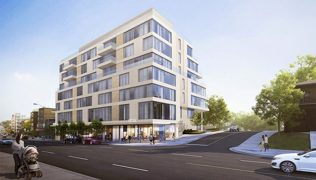 The Howard High Park Condos Exterior Rendering