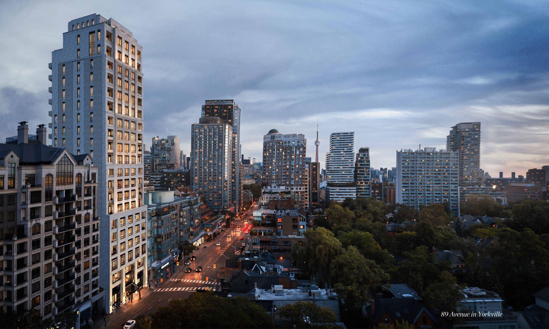 89 Avenue Condos Exterior Rendering