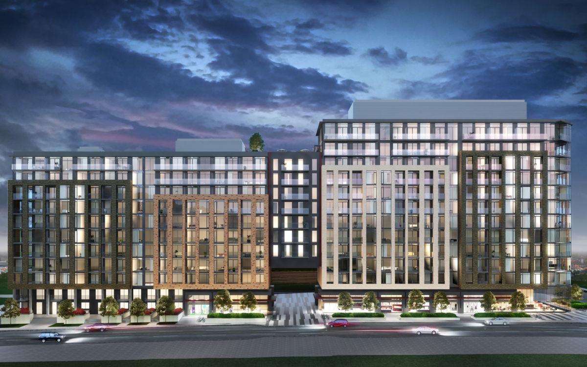 Go.2 Condominiums Exterior Rendering
