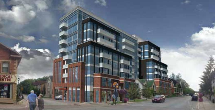 Old Market Lane Exterior Rendering