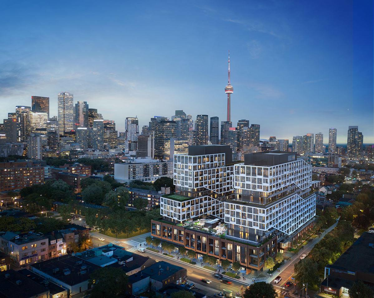 MRKT Condos - Toronto Condos - Building Rendering