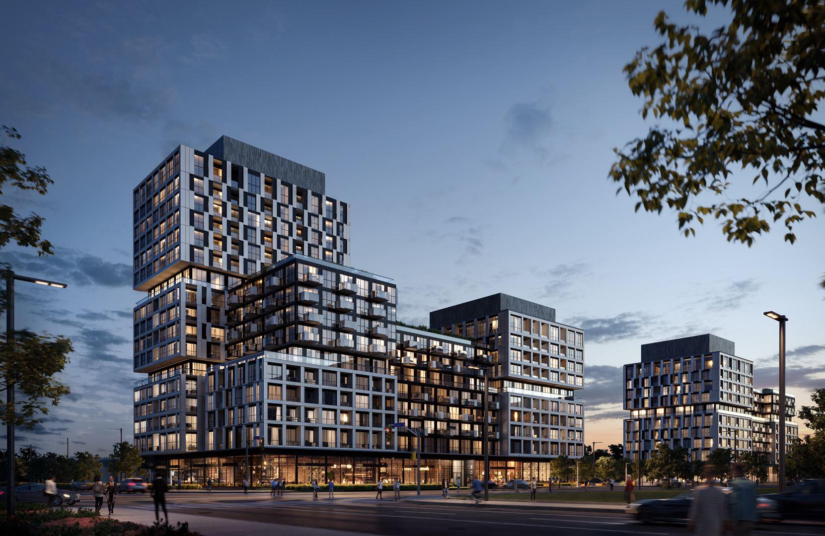 100 Wellesley Street East Condos Exterior Rendering